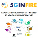Experimentation over Distributed 5G NFV-based Environments